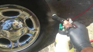 Tornador Black tire cleaning