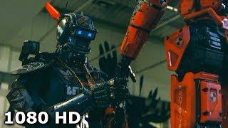 Чаппи хочет пересадить своё сознание в нового робота | Робот по имени Чаппи (2015)
