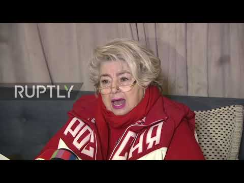 Russia: 'The murder of our national sport' - Russian Trainer Tarasova on Russia's Olympic ban