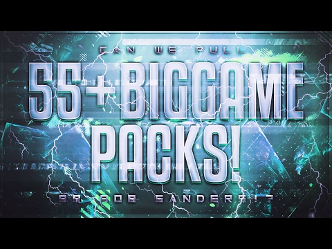 CAN WE PULL 99 BOB SANDERS!?55+ BIG GAME PACKS!-Madden Mobile 17 SB Promo