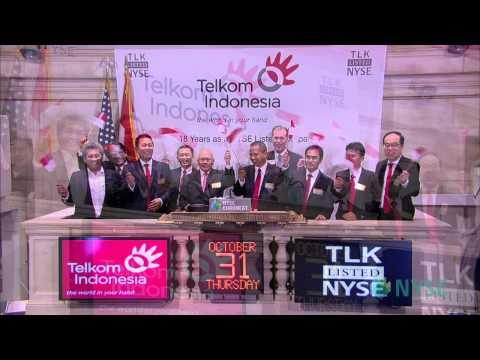 P.T. Telekomunikasi Indonesia Visits the NYSE