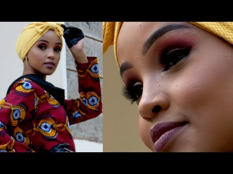 """""""My mum learned to love that I am a hijabi model"""" - BBC Africa"""