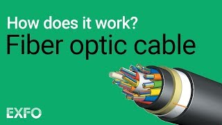 Fiber Optical Cable - EXFO animated glossary of Fiber Optics