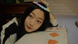[English ASMR] Origami Show and Tell 영어로 종이접기 작품 소개