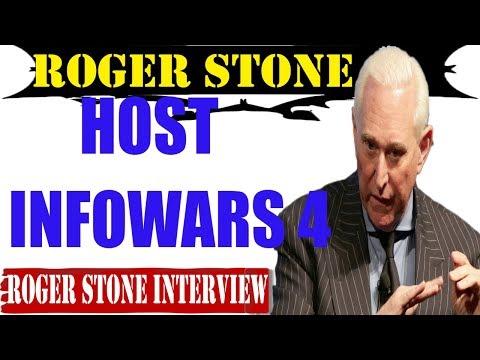 Roger Stone SEPTEMBER 23-Hosts InfoWars 4-Alex Jones 1st HOUR Commercial Free
