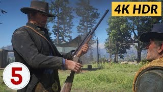 The Hunting. Ep.5 - Red Dead Redemption 2 [4K HDR]