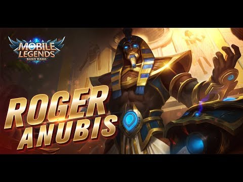 Mobile Legends: Bang Bang! Roger February Starlight Exclusive Skin |Anubis|