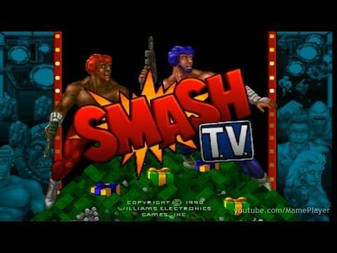 Smash T.V. 1990 Williams Mame Retro Arcade Games