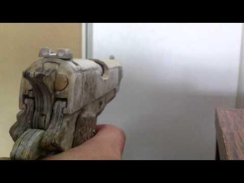 Paper M1911 A1 consequtive primer tests (4 rounds)