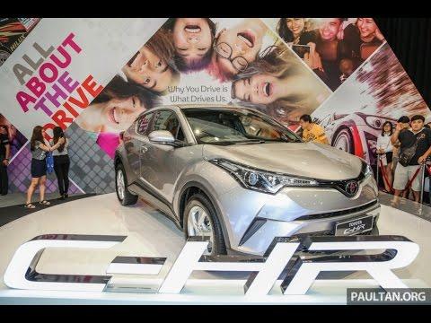 2017 Toyota C-HR First Look & Photos