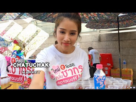 Chatuchak Market ! Wonderful experience!! Vlog02