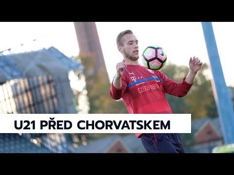 Reprezentace U21 trénink před Chorvatskem