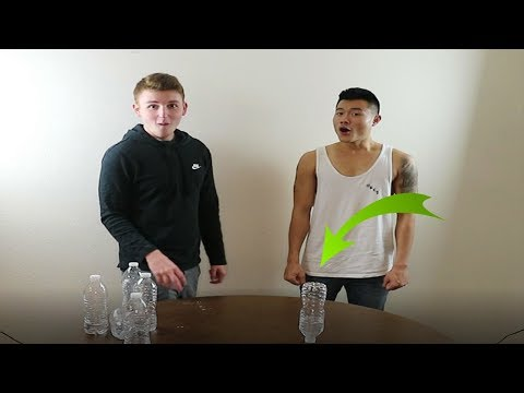 Intense Game of Bottle Flip Versus Infinite Lists!!!!