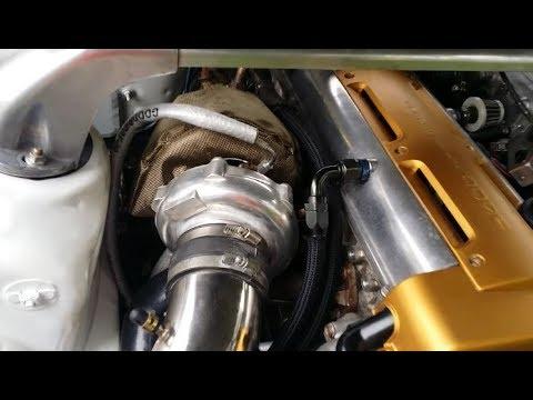 DIY Turbocharger Oil Feed Line Install - 2JZGTE Aristo