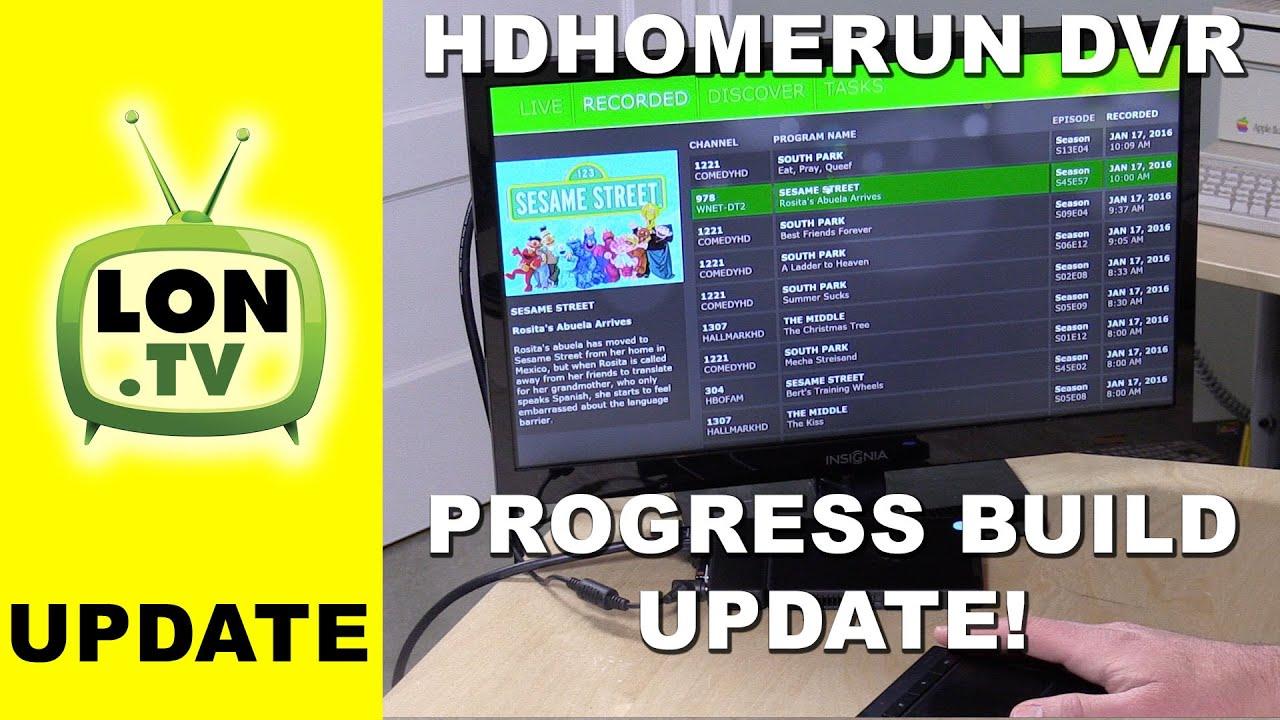 HDHomeRun DVR January, 2016 Update - Beta Windows Client Running on a  Kangaroo Mini PC