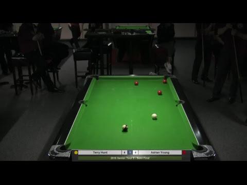 2018 Senior Tour 2 - Terry Hunt v Adrian Young
