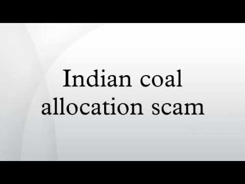 Indian coal allocation scam
