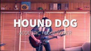 Elvis Presley - Hound Dog [Acoustic + Loop Cover]