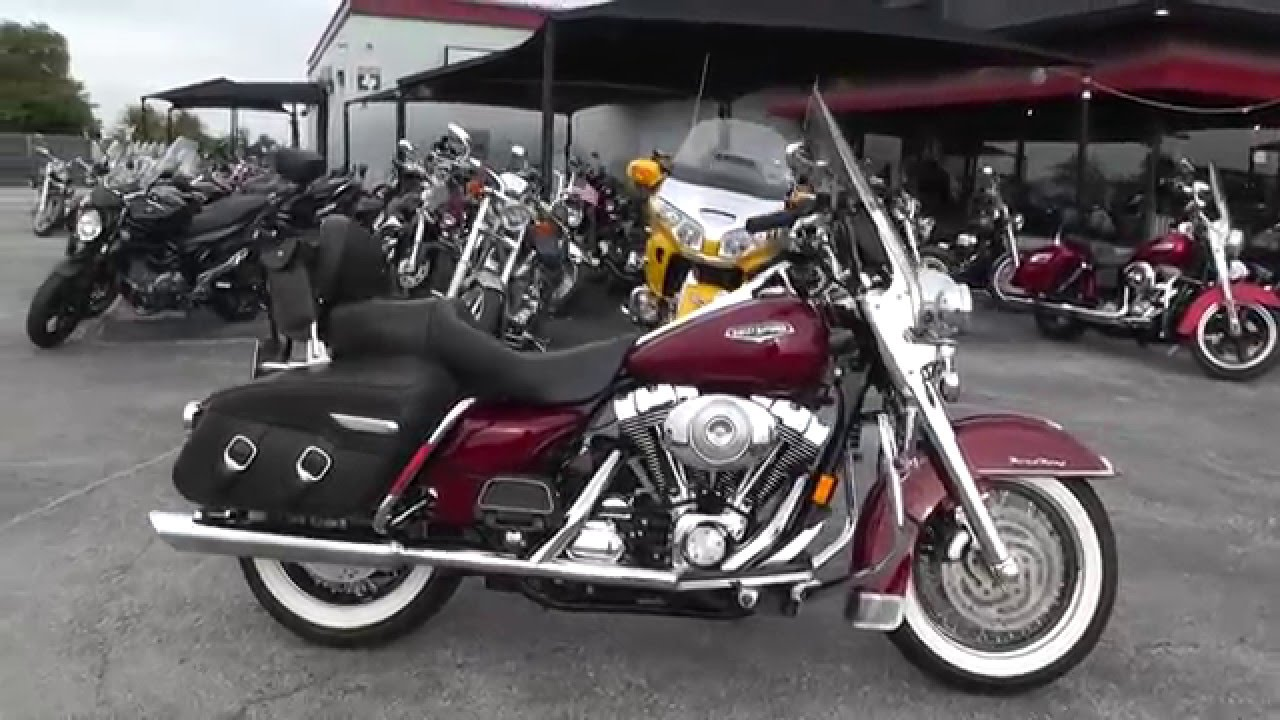2006 Harley Davidson Road King Classic FLHRCI