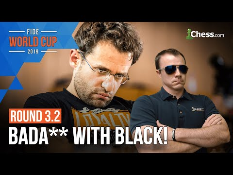 Is Levon Aronian better as Black!? | FIDE Chess World Cup Round 3.2