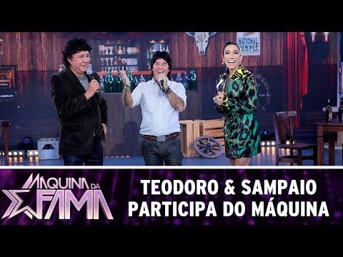 Máquina da Fama (25/07/16) Teodoro & Sampaio participa do Máquina