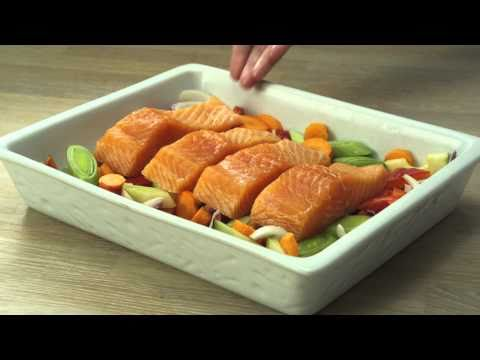 Ovnsbakt laks - Godfisk reklamefilm