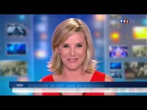 Laurence Ferrari fait ses adieux lors du JT de 20 heures du 31 mai 2012 sur TF1
