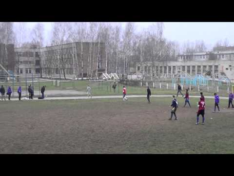Уличный футбол Олимпик - G-Sound (1 тайм)