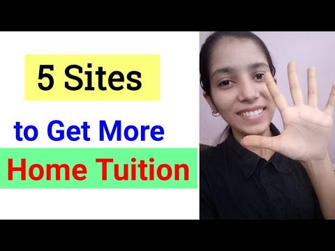 5 Best Sites to Get More Home Tuition