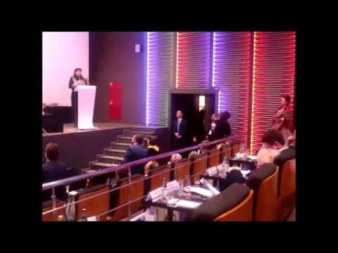 Выступление Главы Вяземского района Инны Демидовой на Национальной премии Бизнес Успех  07 02 2018