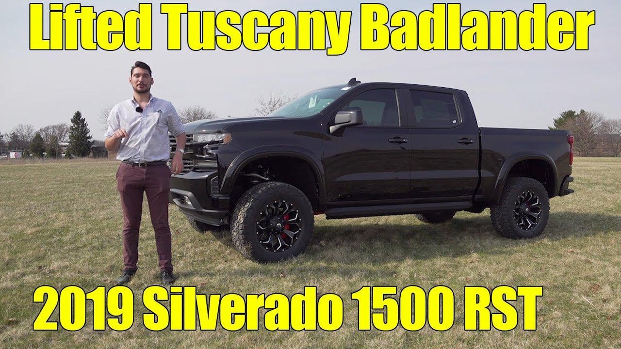 LIFTED 2019 Chevy Silverado 1500 RST! Badlander by Tuscany ...