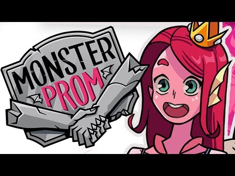 THIRSTY MONSTERS - Let's Play: Monster Prom Part 8 w/Michaela Laws, MadamSharky & HusbandoGoddess
