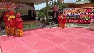 Tari Zapin melayu kelas XI IPA MA Muhammadiya Pekanbaru