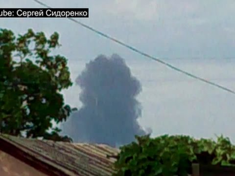 RAW VIDEO: Purported YouTube clip of MH17 crash
