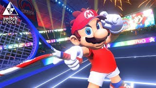 Mario Tennis Aces Coming To Switch! - Nintendo Direct Gameplay
