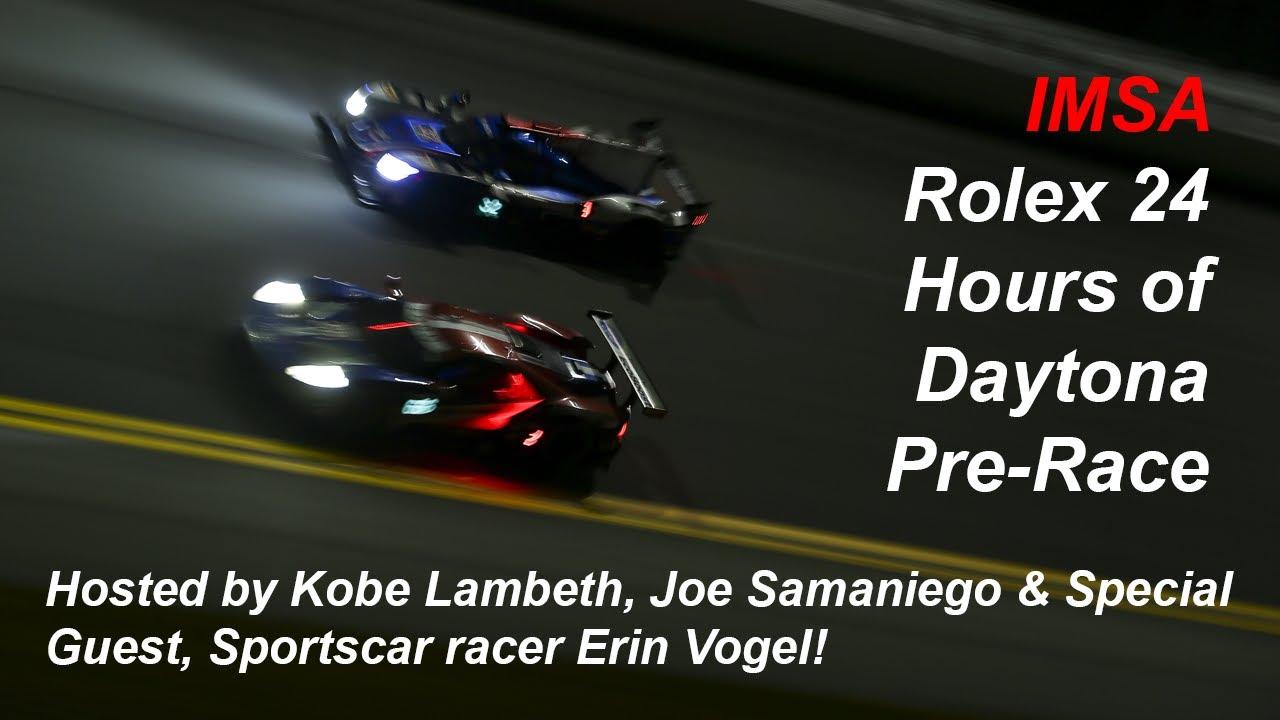 IMSA Rolex 24 Hours of Daytona Pre-Race