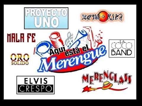 Merengue mix movidas para Bailar Merenglass Zona rica Elvis crespo proyecto uno   Viejitas