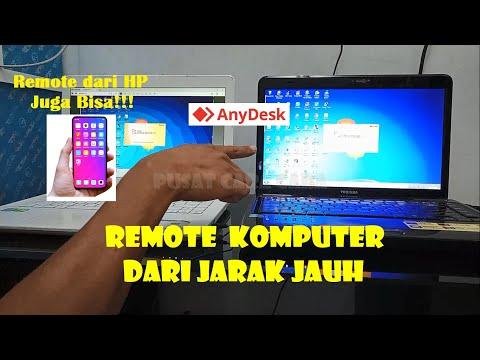 Cara Remote Komputer Dari Jarak Jauh dengan Anydesk