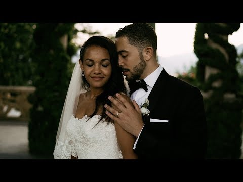 Wedding video at Villa Giuseppina - Lake Como