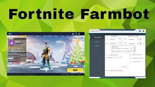 Fortnite AFK Bot / Fortnite FARM Bot / No ban Risk / Anti AFK / Season 7