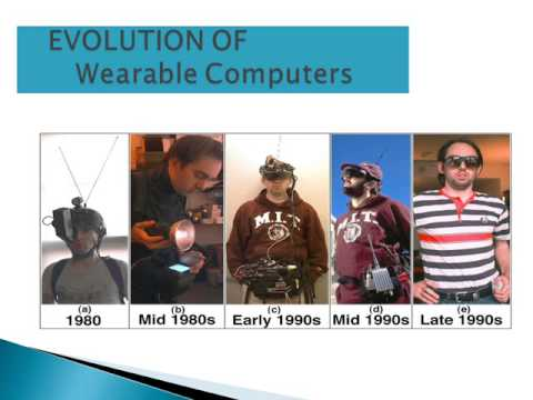 seminar topic on wearable computers ppt