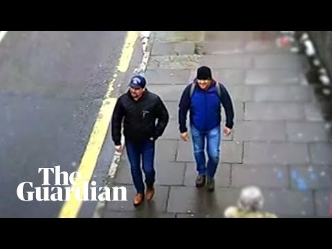 Skripal poisoning: further video released of suspects