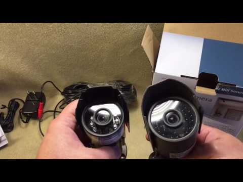 Bunker Hill Security Color IR camera from Harbor Freight