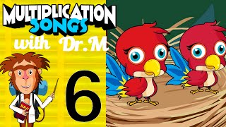 Multiplication Song 6 with Dr. M - The Rescue of the Parrot Chicks | Muffin Songs