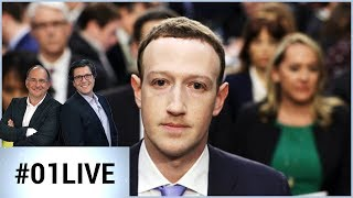 Mark Zuckerberg : Facebook en danger ? - 01LIVE HEBDO #181