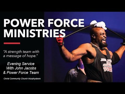 John Jacobs and the New Generation Power Force Ministries