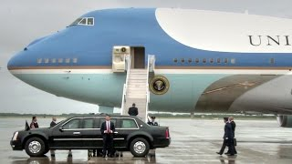 Air Force One Taxi & Takeoff From MacDill Air Force Base