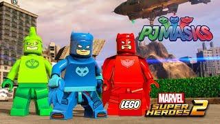 LEGO Marvel Superheroes 2 - PJ MASKS Custom Characters