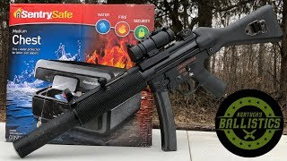 MP5 vs Sentry Safe (Full Auto Friday)
