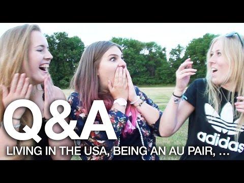 Living in the USA, being an Au Pair & Friendship | Q&A